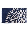 Avira Home Blue Abstract Bath Mat