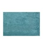 Avira Home Blue Cotton Bath and Toilet Mat - Set of 2