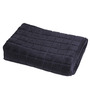 Avira Home Charcoal Gray Cotton Zero Twist Bath Towel