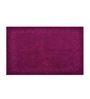 Avira Home Purple Plum Design Terry Bath Mat