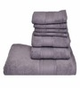Avira Grey Home Imperial Cotton Face Towel - Set of 4