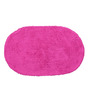 Avira Home Magenta & Blue Cotton 31 x 20 Inch Bathmat Set