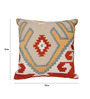 Avira Home Multicolor Poly Cotton 18 x 18 Inch Home Ikat Cushion Cover