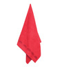 Avira Home Red Cotton Bath Towel