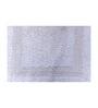 Avira Home White Cotton 20 x 20 Bath Mat