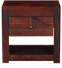 Avon Bed Side Table in Warm Rich Finish by Inliving