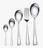 Awkenox Decor Stainless Steel Cutlery Set - Set of 28