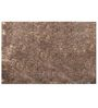 Azaani Brown Polyester 84 x 60 inch Solid Area Rug