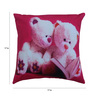 Azaani Multicolour Polyester 17 x 17 Inch Beautiful Teddy Cushion Covers - Set of 5