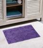 Azaani Brown 100% Cotton Bath Mat - Set of 3