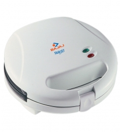 Bajaj Majesty 2 Grill 2 Slice Sandwich Toaster (White)