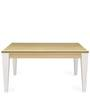 Baalbek Six Seater Dining Table in White Colour by @Home