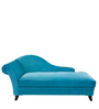 Babel Lounger Sofa in Royal Blue Colour by Madesos