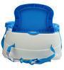 Baby Booster Seat in Blue Finish by Mee Mee