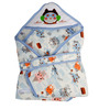 Mee Mee Baby Wrapper Blanket in Blue Colour
