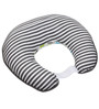 Bacati Elephant Nursing Pillow in Aqua Lime & Grey