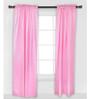 Bacati Elephant Pink Grey Curtain Panel Door Set of 2 pcs