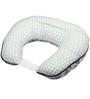 Bacati Emma Aztec Muslin Nursing Pillow in Mint & Navy