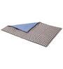 Bacati Grey Dots Blue Grey Baby Comforter