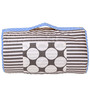 Bacati Grey Dots Blue Grey Nap Mat