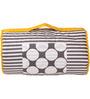 Bacati Grey Dots Yellow Grey Nap Mat