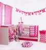 Bacati Pink ZigZag Mix & Match 10 CS Crib Set