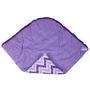 Bacati Purple Zigzag Baby Wrap