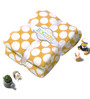 Bacati Yellow Dots Baby Throw