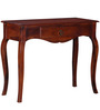Anne Console Table in Honey Oak Finish by Amberville