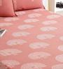Bana Multicolour Cotton Queen Size Bed sheet - Set of 3
