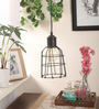 Bandra Flea Market Black Iron Small Cage Pendant