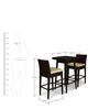 Bar Set (1T + 2S) by Svelte