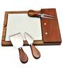 Bar World Chesse Knife Set with Ceramic Cheese Board