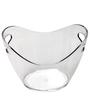 Bar World Transparent  Ice Bucket