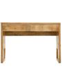 Barcelona Solid Wood Study Table in Natural Finish by TheArmchair