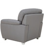 Bari One Seater in Grey Colour by Furnitech