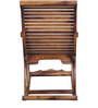 Acklom Rocking Chair in Provincial Teak Finish by Amberville