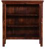 Raliegh Solid Wood Book Case in Honey Oak Finish by Woodsworth