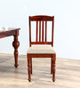 Barnsdale Dining Chair in Honey Oak Finish by Amberville