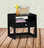 Connell Bed Side Table in Espresso Walnut Finish by Woodsworth
