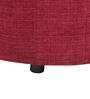Barrel Fabric Pouffe in Fuchsia by SIWA Style