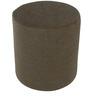 Barrel Round Pouffe in Grey by Siwa Style