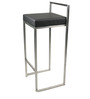 Bar Chair in Black Colour by Suvika Lifestyles