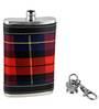 Barworld 148 ML Red Color Hip Flask