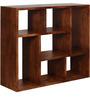 Madison Segmented Solid Wood Book Shelf in Provincial Teak Finish by Woodsworth