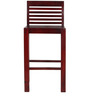Woodinville Bar Chair in Passion Mahogany Finish by Woodsworth