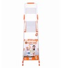 Bathla  Aluminium 3 Steps 5.08 FT Ladder with platform