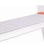Bathla  Aluminium 6 Steps 7 FT Ladder with platform