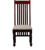 Masion Dining Chair in Passion Mahogany Finish by Amberville