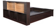 Bedroom Set (Queen Bed + Wardrobe + 2 Side Tables + Dresser + stool) in Wenge Colour by Penache Furnishings